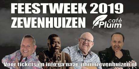 Feestweek Zevenhuizen 2019 bij Café Pluim tickets