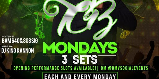 TCB Mondays at Dirty Martini @DMVSocialEvents