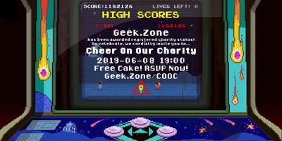 Cheer On Our Charity! Geek.Zone Community Celebration