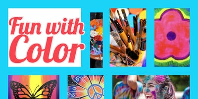 Fun With Color Art Camp  ages 5-9