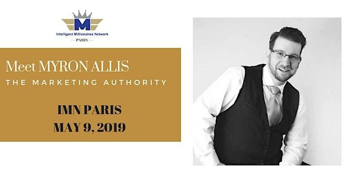 IMN Paris Exceptional Formal Event : Myron Allis The Marketing Authority image