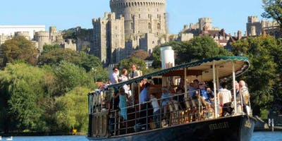 Speed dating and games on the Thames