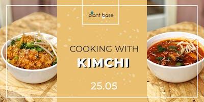 Cooking With Kimchi - vegan workshop
