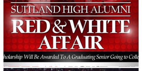 The Official Suitland High Alumni Red & White Affair Sat Aug 24th Vybe Band tickets
