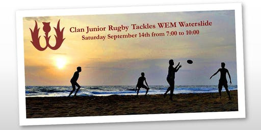 Clan Junior Rugby Swim Night Fundraiser