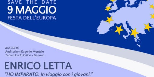 Festa dell'Europa e consegna attestati agli studenti SdP Liguria del corso
