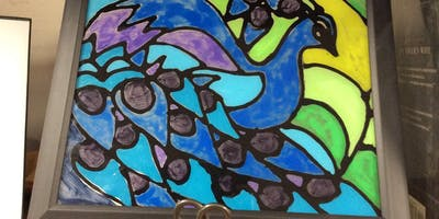 Art Exploration: Stained Glass Art (Grades K & Up) 5/21 @ 3:15 PM
