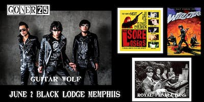 Goner Records Presents GUITAR WOLF (Tokyo, Japan) with SORE LOSERS screening + ROYAL PENDLETONS (New Orleans, LA) & WILD ZERO screening
