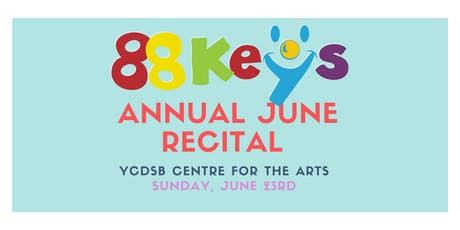 88Key's June Recital 2019: Concert 2 tickets