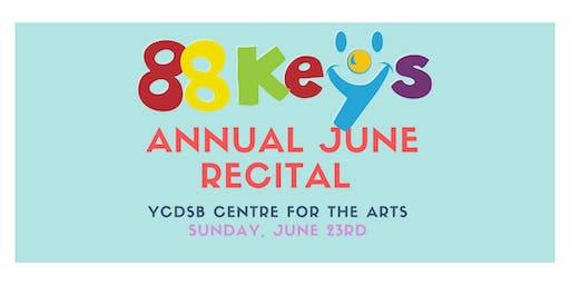 88Key's June Recital 2019: Concert 3