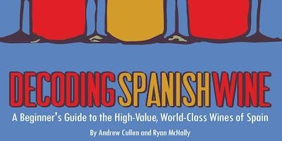 Book Release, Spanish Tapas & Wine Tasting at CWM!