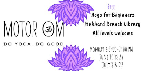 Yoga for Beginners at Hubbard tickets