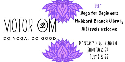 Yoga for Beginners at Hubbard