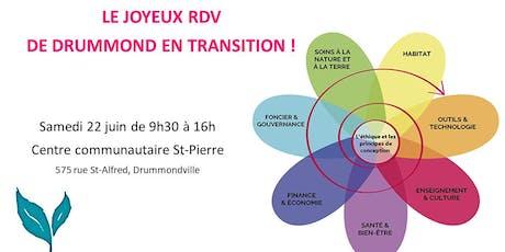 Le joyeux RDV de Drummond en transition billets