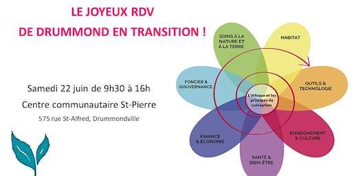 Le joyeux RDV de Drummond en transition