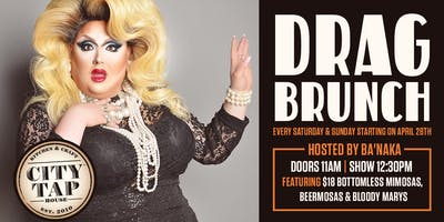 Drag Brunch Every Saturday & Sunday