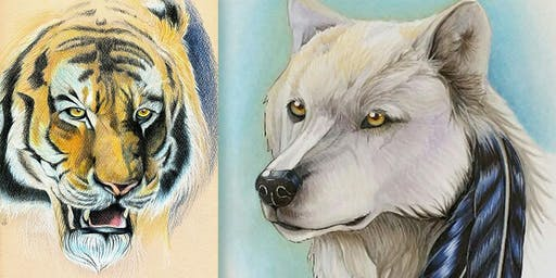 Drawing & Painting Animals - 5-day Kids Summer Camp