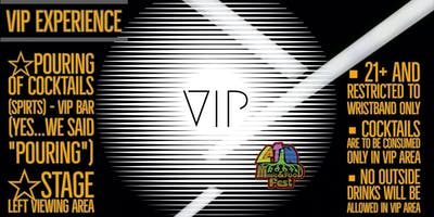 The VIP Experience - Latin Roots Music & Food Fest