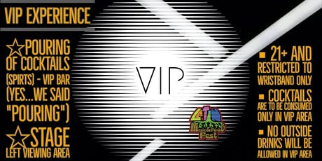 The VIP Experience - Latin Roots Music & Food Fest tickets