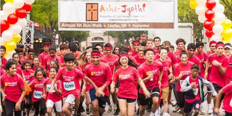Asha-Jyothi 11th Annual 5K Run/Walk - Fairfax tickets