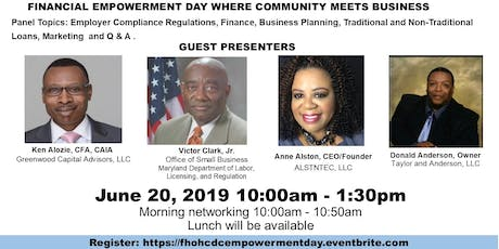 Empowerment Day - Where Community Meets Business tickets