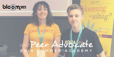 BLOOM365 Gen Z Peer Advocate Academy