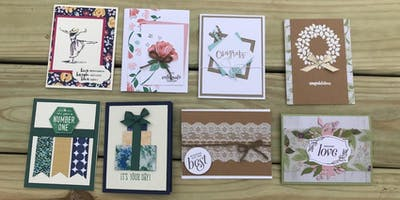 Card Making Class - Friends and Family