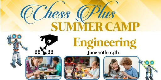 Chess Plus Engineering Summer Camp (June): Robotics/Circuits/Electronics/Lego (STEM)