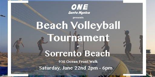 Beach Volleyball Tournament