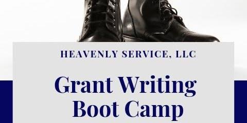 Grant Writing Bootcamp