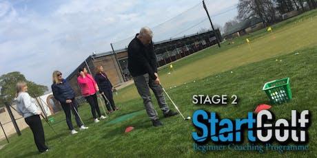StartGolf - Stage 2 - Beginner Golf Coaching - Jun 23rd tickets
