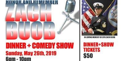 Zach Buob Memorial Dinner + Comedy Show 2019