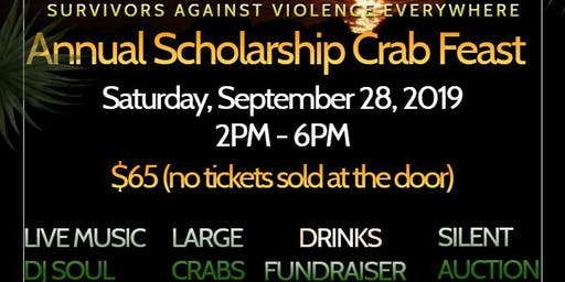 Survivors Against Violence Everywhere Crab Feast