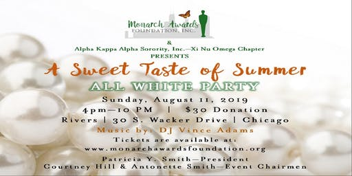 "Monarch Awards Foundation, Inc. Presents ""A Sweet Taste of Summer"""