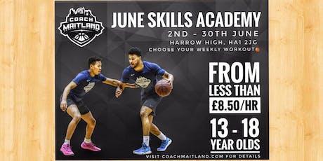 June Skills Academy tickets
