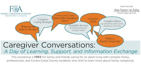 Caregiver Conversations: A Day of Learning, Support, and Information Exchange tickets