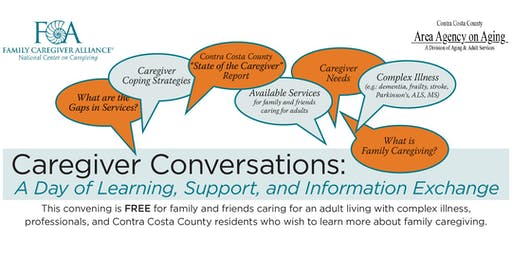 Caregiver Conversations: A Day of Learning, Support, and Information Exchange