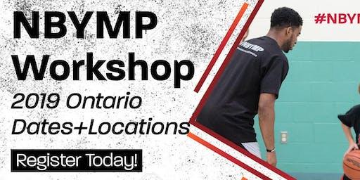 NBYMP Basketball Workshop - Waterloo (Laurier University)