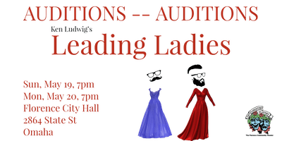Auditions for Ken Ludwig's Leading Ladies
