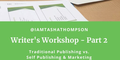 Book IT! Writer's Workshop - Part #2
