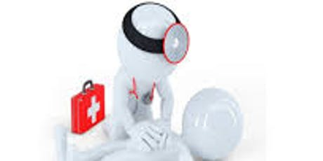 CPR/AED & First Aid Training  for 2 year Certification, Meeting OHSA Workplace Requirements tickets