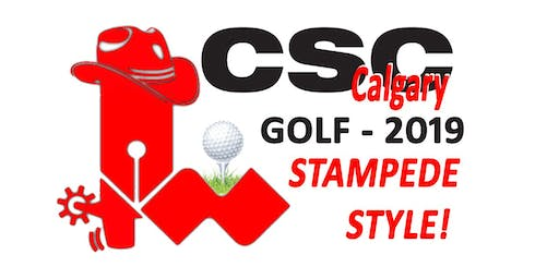CSC Calgary 2019 Golf Tournament- Stampede Style July 9th
