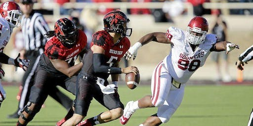 Texas Tech Red Raiders vs Oklahoma Sooners New Orleans Watch Party