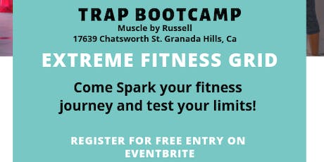 Trap Bootcamp Extreme Fitness Grid Vol. 2 tickets