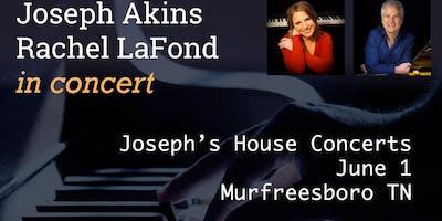 Joseph Akins and Rachel LaFond in Concert