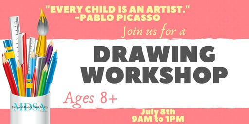 Drawing Workshop for Youth 8+