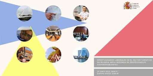 Oportunidades laborales en el sector turístico en Irlanda - Mesa redonda de profesionales hispanohablantes