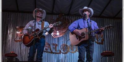 Richard Elloyan and Steve Wade perform at Ruby's Amphitheater
