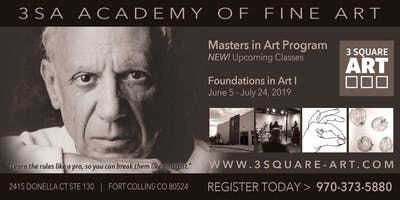 3SA Academy for Fine Art Classes - Foundations in Art I