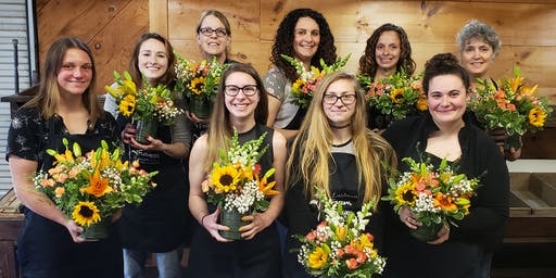 June Floral Arranging Class- Thursday
